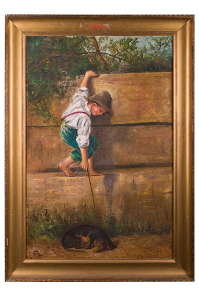 Nicola Biondi - Child with dog